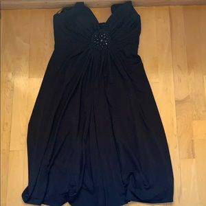 London Times Dresses - Black maxi dress for a night out!